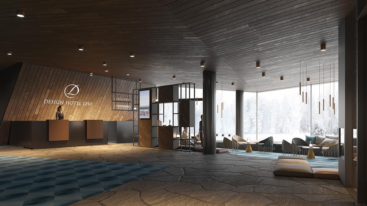 Design Hotel Levi – Opening late autum 2019